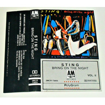 Sting / Bring On The Night Vol 2 / Audio Cassette De Rock