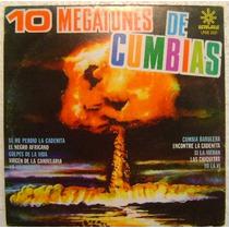 10 Megatones De Cumbias 1 Disco Lp Vinilo