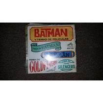 Disco Acetato 45 Rpm De: Batman Y Temas De Peliculas