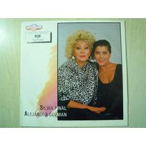 Silvia Pinal Y Alejandra Guzman Lp Disco Poster Mame & Bye M