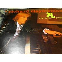 Disco De Acetato Richard Clayderman