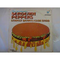 Disco De Vinilo Sargeant Peppers Lonely Hearths Club Band