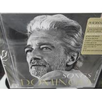 Placido Domingo Songs Cd Nuevo Sellado