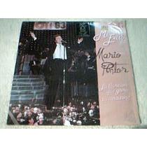 Disco Lp Mario Pintor - Mi Exito - Interprete Oti 83 -