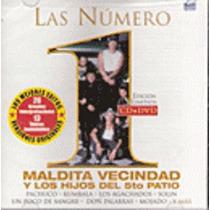 Las Número 1 (cd + Dvd) Maldita Vecindad Y Los Hijos Del 5to