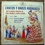 Flamenco, Cantos Y Bailes Andaluces, Lp 10´, Omm