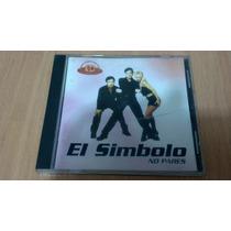 El Simbolo, No Pares, Cd Album Muy Raro Del Año 1999