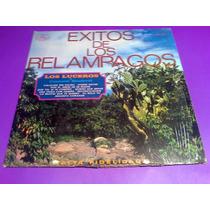 Disco Lp Los Luceros Y Conj Sandoval Exitos D Los Relampagos