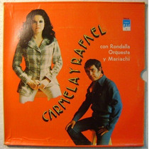 Carmela Y Rafael Album De 3 Discos Lp Vinilo