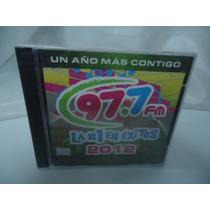 Un Año Mas Contigo 97.7 -cd Album - Varios Artistas Exitos