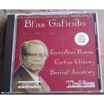 Blas Galindo Juventino Rosas Carlos Chavez B.jimenez Cd Raro