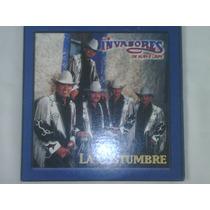 Cd Single/promo De Los Invasores De Nuevo Leon:la Costumbre
