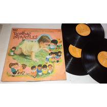 Compañia Infantil D Televicentro Rondas Infantiles 3lp Vinyl