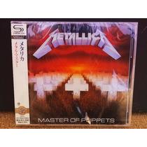 Cd Album Metallica Master Of Puppets [shm-cd]