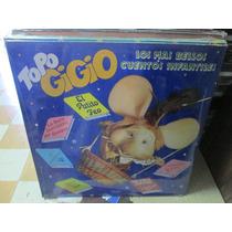 Topo Gigio Lp Los Más Bellos Cuentos Infantiles Nuevo ---
