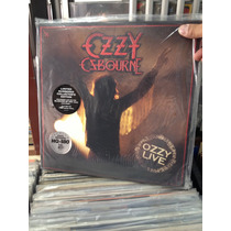 Ozzy Osbourne Ozzy Live 2 Lps Limited Ed Number Nuevo 180grm