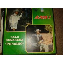 Disco Acetato: Lalo Gonzalez Piporro 3 Discos