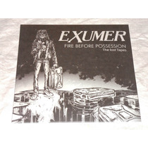 Exumer Fire Before Possession: The Lost Tapes Lp Splatter