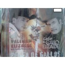 Cd Lalo El Gallo Elizalde Valentin Elizalde 2 Gallos Sellado
