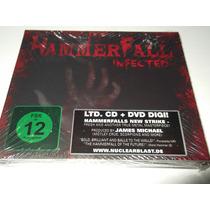 Hammerfall Cd Infected Edguy Gammaray Sinner Helloween