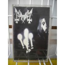 Mayhem - Live In Leipzig Cassette Importado