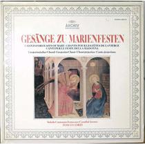 Cantos De Las Fiestas De María Canto Gregoriano