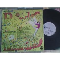 Disco Lp De Acetato Rondas Y Canciones Infantiles