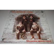 Los Liricos De Teran - Morenita - Disco Lp Norteño Cumbia