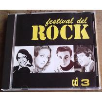 Festival Del Rock Cd Vol 3 Los 4 Grandes. Rarisimo Op4