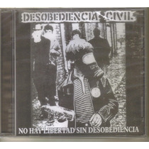 Desobediencia Civil - No Hay L... ( Punk Hardcore ) Cd Rock