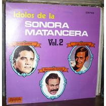 Idolos De La Sonora Matancera Vol 2 Lp Daniel Santos Granda