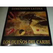Lp Dimension Latina / Los Dueños Del Caribe / Seminuevo