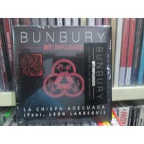 Bunbury La Chispa Adecuada Sencillo Cd+dvd Nuevo Unplugged