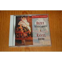 Cd Olympia Classics, Bolero De Ravel, Bizet Suites Carmen