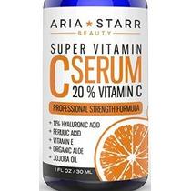 Aria Starr Belleza Orgánica 20% De Vitamina C Tópica Serum R
