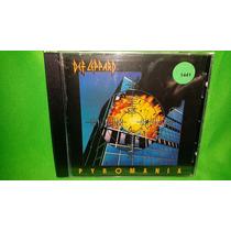 Cd Def Leppard - Pyromania / Scorpions Queen Van Halen Ratt