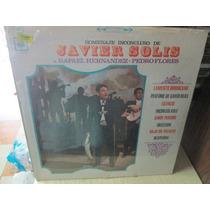 Javier Solis Disco Lp Nuevo