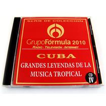 Grupo Formula Cuba Leyendas De La Musica Tropical Cd Iv 2010