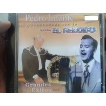 Cd Banda El Recodo Acompaña A Pedro Infante Nuevo Y Sellado