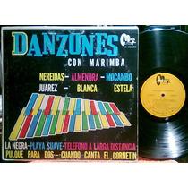 Danzones Con La Marimba Diosa Del Sur Lp Muy Raro Regional