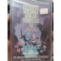 Kct Las Tortugas Ninja 2 De 1991 Soundt 100% Nuevo Y Sellado