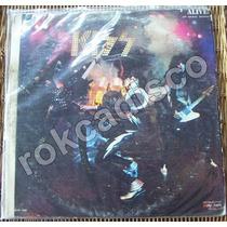 Rock Inter, Kiss, Alive!, 2 Lp´s 12´, Hecho En México