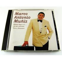 Marco Antonio Muñiz / Dejame Llegar A Ti Cd Como Nuevo 1997