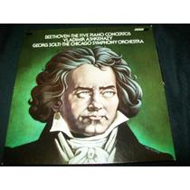 Beethoven - Conciertos Para Piano Lp Vinil Solti Ashkenazy