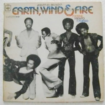 Earth, Wind & Fire / Asi Es El Mundo 1 Disco Lp Vinil