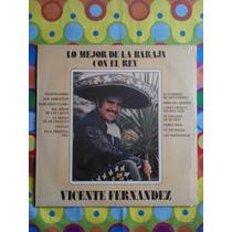 Vicente Fernández Lp Lo Mejor De La Baraja Con El Rey 1973