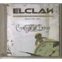 El Clan - Cronologia Del Embrujo ( Dark Mexicano ) Cd Rock