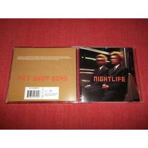 Pet Shop Boys - Nightlife Cd Nac Ed 1999 Mdisk