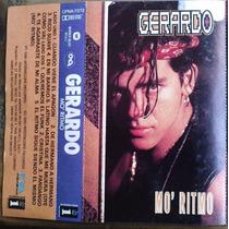 Gerardo Mo Ritmo Cassette Rarisimo 1990 C/ Booklet Sp0