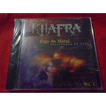 Khafra Caja De Metal Enterrados En Vivo 1 Y 2